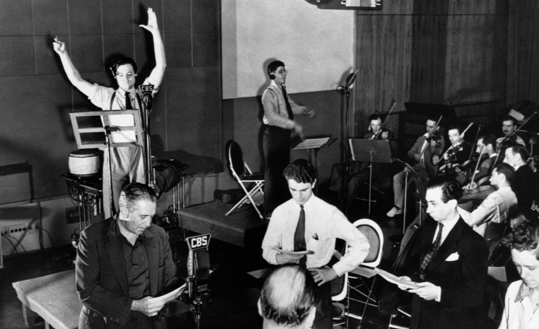 Image result for war of the worlds radio broadcast